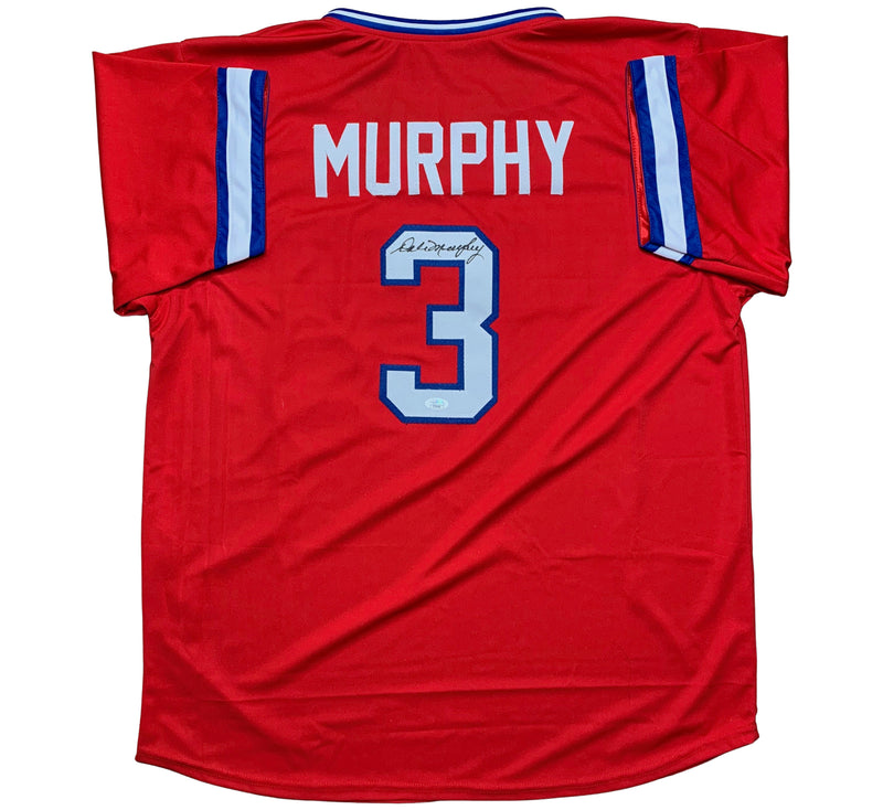Dale Murphy autographed signed jersey MLB Atlanta Braves JSA COA MVP - JAG Sports Marketing