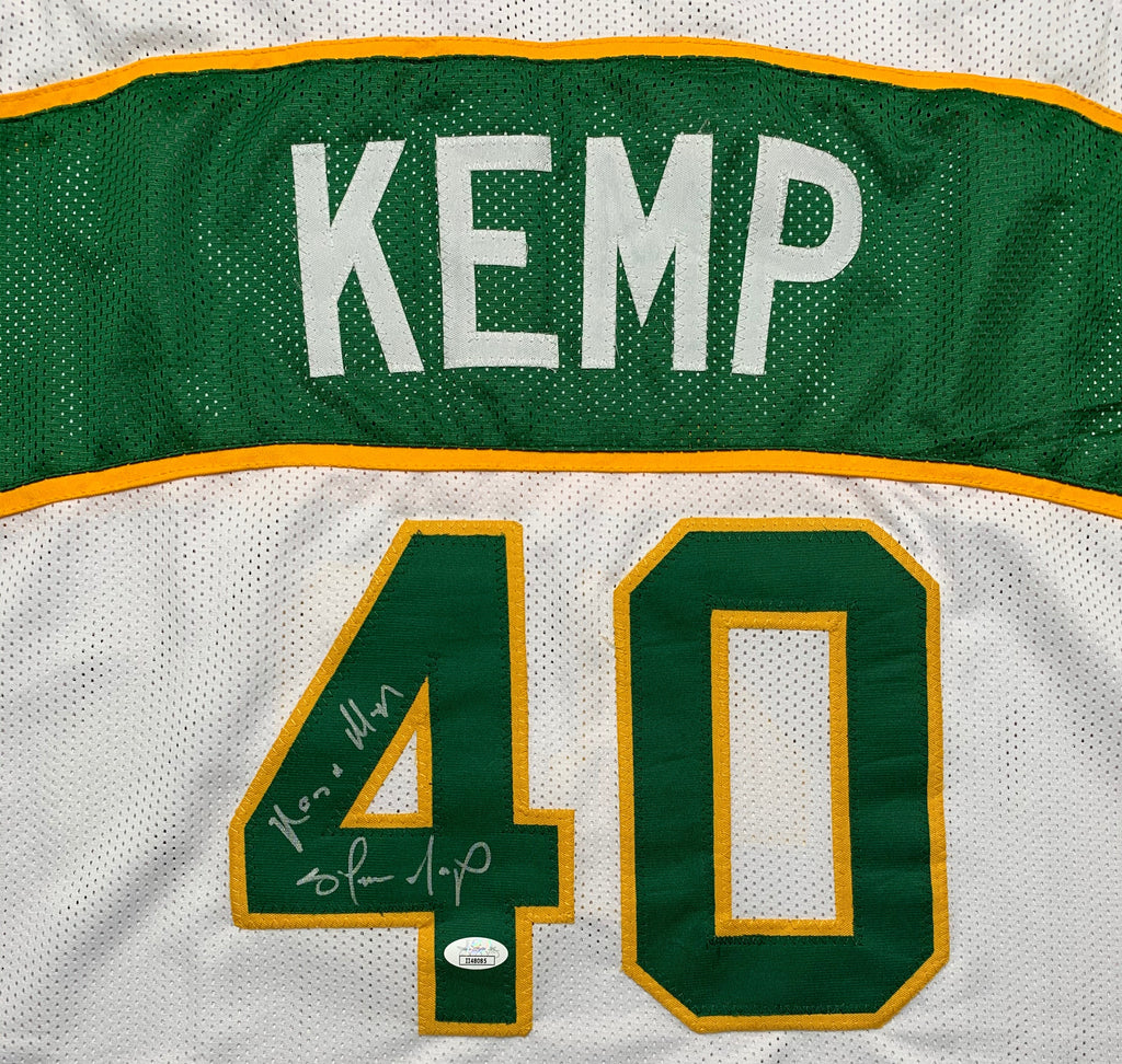 Shawn Kemp autographed signed inscribed jersey NBA Seattle Supersonics JSA COA - JAG Sports Marketing