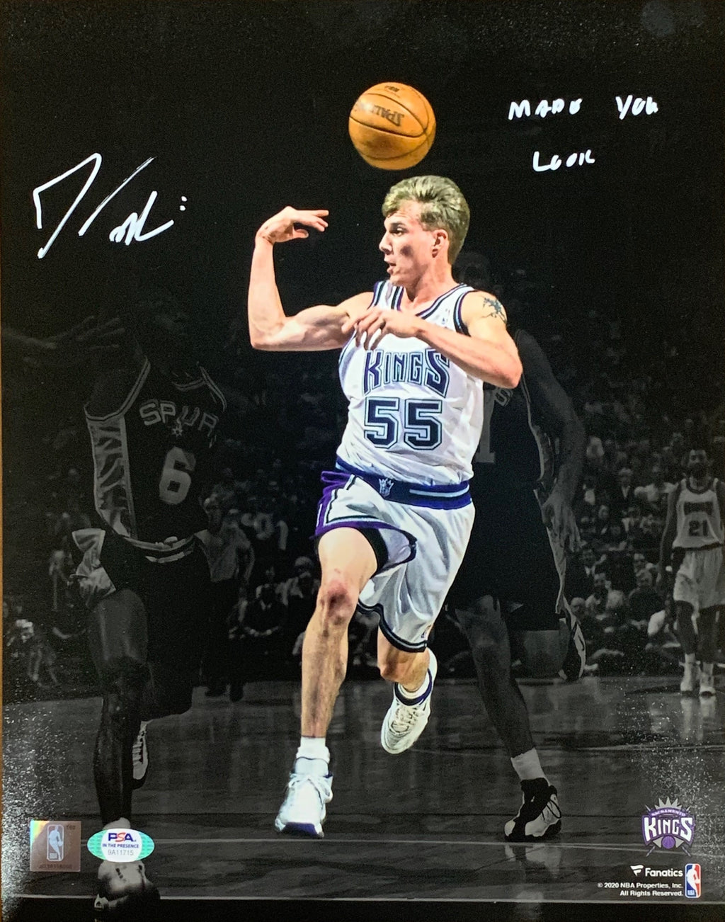 Jason Williams autographed signed inscribed 11x14 photo NBA Sacramento Kings PSA - JAG Sports Marketing