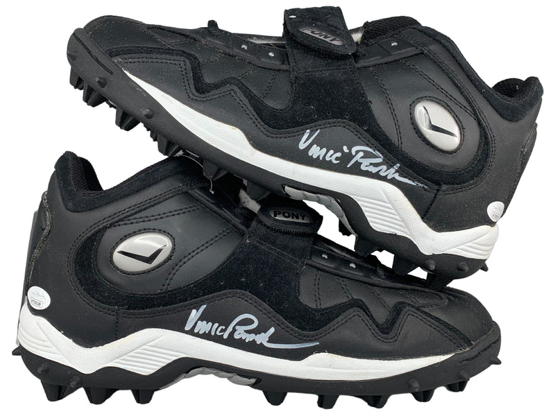 Vince Papale autographed signed Pair of Cleats NFL Philadelphia Eagles JSA COA - JAG Sports Marketing