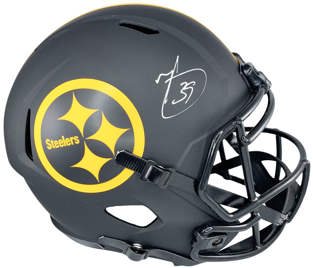 Minkah Fitzpatrick autographed signed Full Size Eclipse Rep Helmet Steelers JSA - JAG Sports Marketing