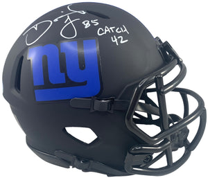 David Tyree autographed signed inscribed Eclipse Mini Helmet New York Giants PSA - JAG Sports Marketing