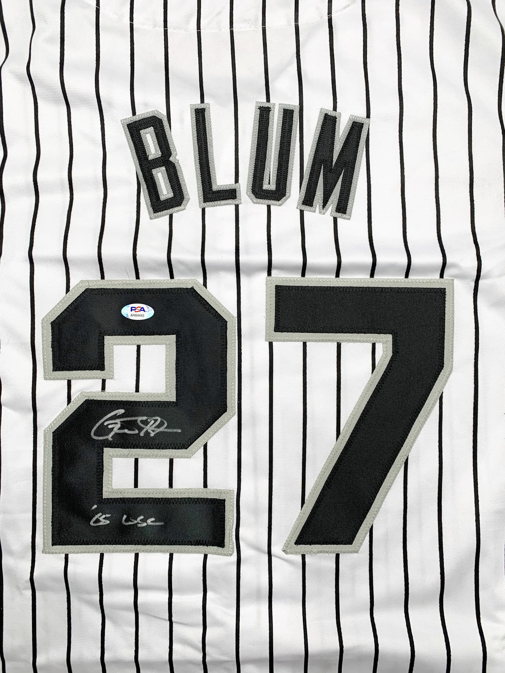 Geoff Blum autographed signed inscribed jersey MLB Chicago White Sox PSA COA - JAG Sports Marketing