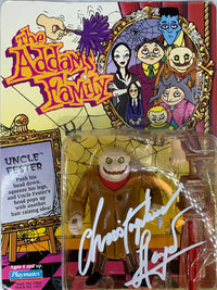 Christopher Lloyd autographed signed The Addams Family Figure PSA COA - JAG Sports Marketing