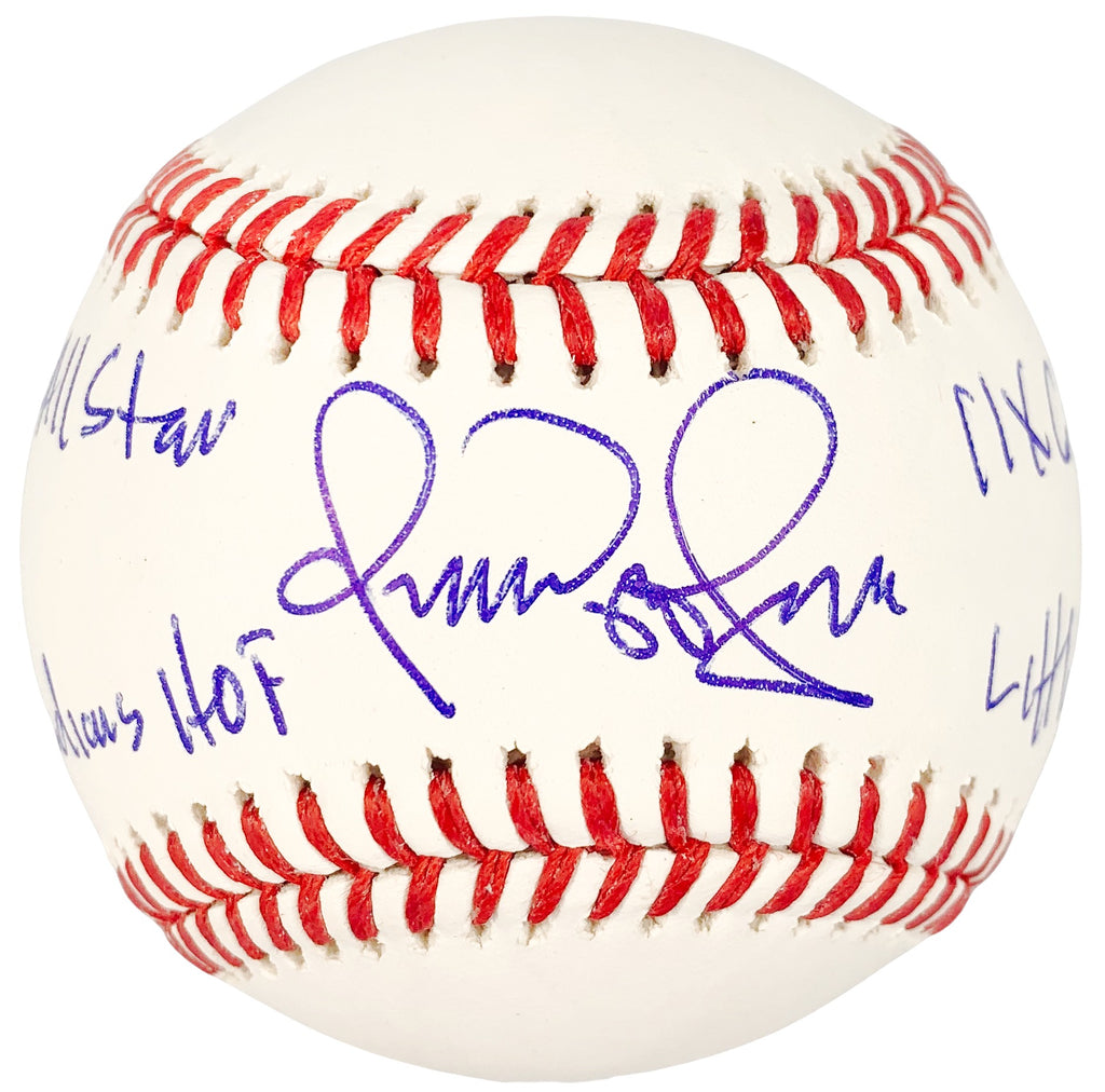 Omar Vizquel autographed signed inscribed baseball Cleveland Indians PSA COA - JAG Sports Marketing