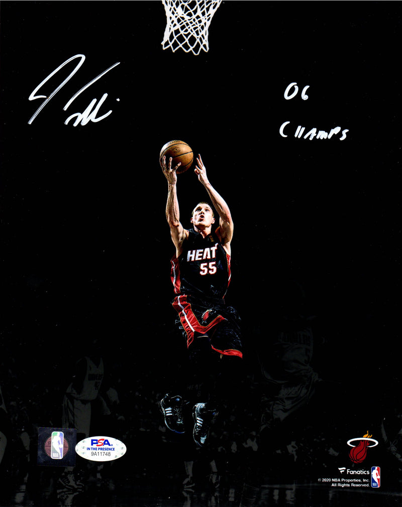 Jason Williams autographed signed inscribed 8x10 photo NBA Miami Heat PSA COA - JAG Sports Marketing