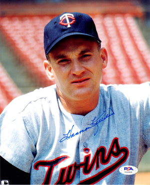 Harmon Killebrew autographed signed 8x10 photo MLB Minnesota Twins PSA COA - JAG Sports Marketing