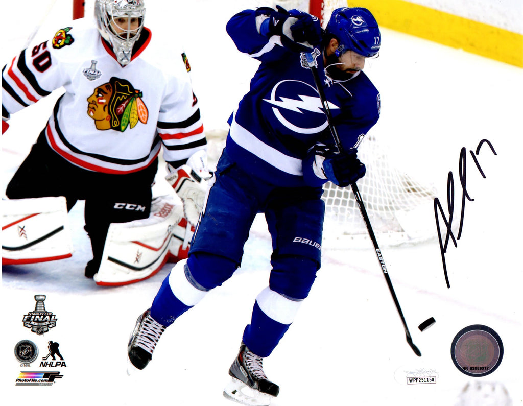 Alex Killorn autographed signed 8x10 photo NHL Tampa Bay Lightning JSA COA