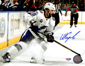 Nikita Kucherov autographed signed 8x10 photo NHL Tampa Bay Lightning PSA COA