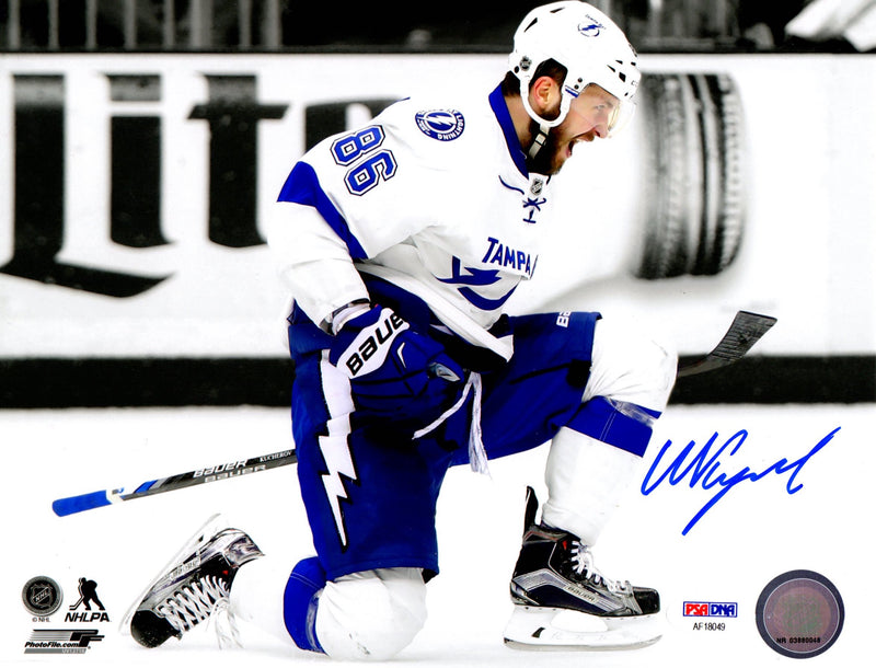 Nikita Kucherov autographed signed 8x10 photo NHL Tampa Bay Lightning PSA COA - JAG Sports Marketing