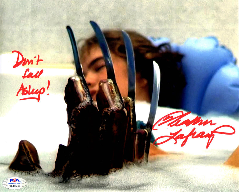 Heather Langenkamp autograph signed inscribed 8x10 photo Nightmare on Elm St PSA - JAG Sports Marketing