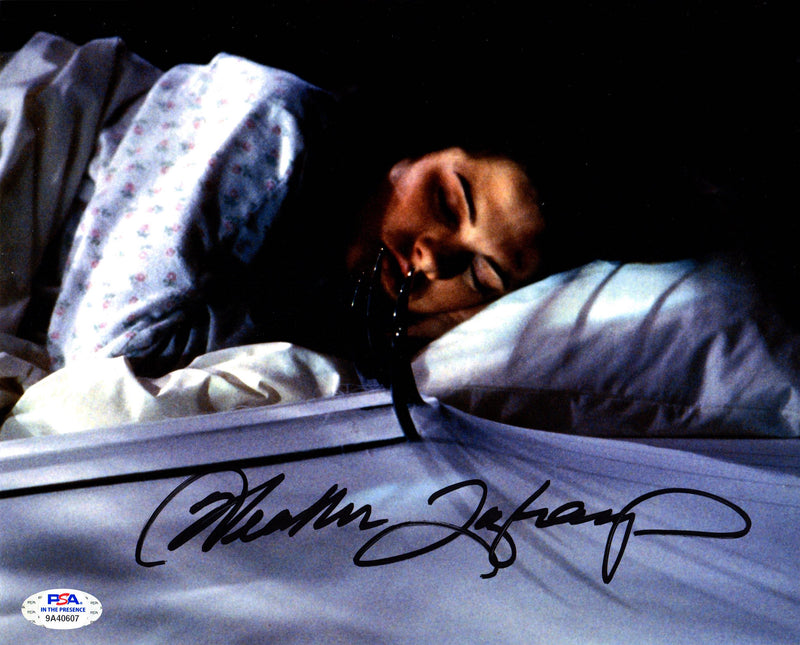 Heather Langenkamp autographed signed 8x10 photo A Nightmare on Elm Street PSA - JAG Sports Marketing