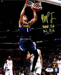 Michael Porter Jr. autographed signed inscribed 8x10 photo NBA Denver Nuggets PSA COA - JAG Sports Marketing