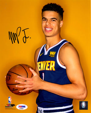Michael Porter Jr. autographed signed 8x10 photo NBA Denver Nuggets PSA COA - JAG Sports Marketing