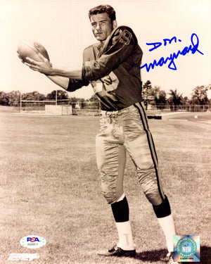 Don Maynard autographed signed 8x10 photo NFL New York Jets PSA COA Super Bowl - JAG Sports Marketing