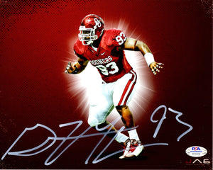 Gerald McCoy autographed signed 8x10 NCAA Oklahoma Sooners PSA COA Buccaneers - JAG Sports Marketing