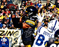 Minkah Fitzpatrick autographed signed 8x10 photo Pittsburgh Steelers Beckett COA - JAG Sports Marketing