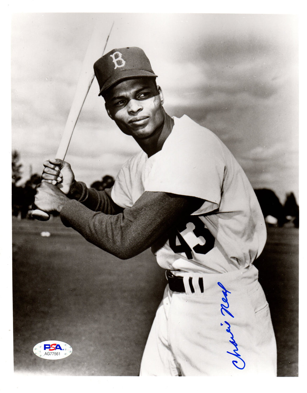 Charlie Neal autographed signed 8x10 photo MLB Brooklyn Dodgers PSA COA - JAG Sports Marketing