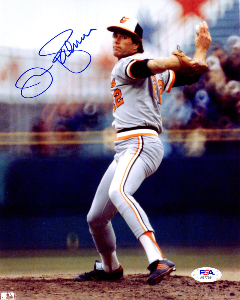 Jim Palmer autographed signed 8x10 photo MLB Baltimore Orioles PSA COA - JAG Sports Marketing