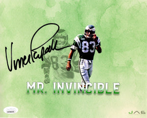 Vince Papale autographed signed 8x10 NFL Philadelphia Eagles JSA COA - JAG Sports Marketing