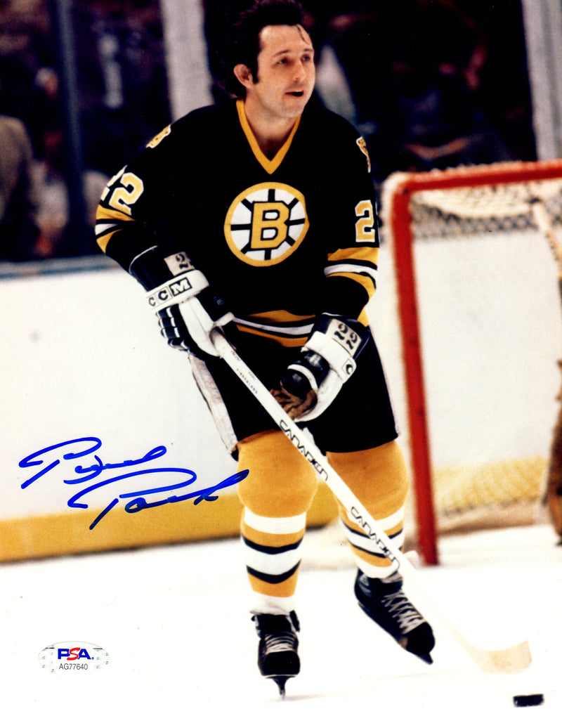 Brad Park autographed signed 8x10 photo NHL Boston Bruins PSA COA - JAG Sports Marketing
