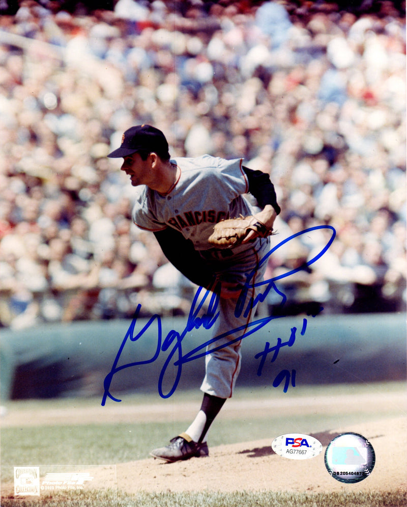 Gaylord Perry autographed signed inscribed 8x10 photo San Francisco Giants PSA - JAG Sports Marketing