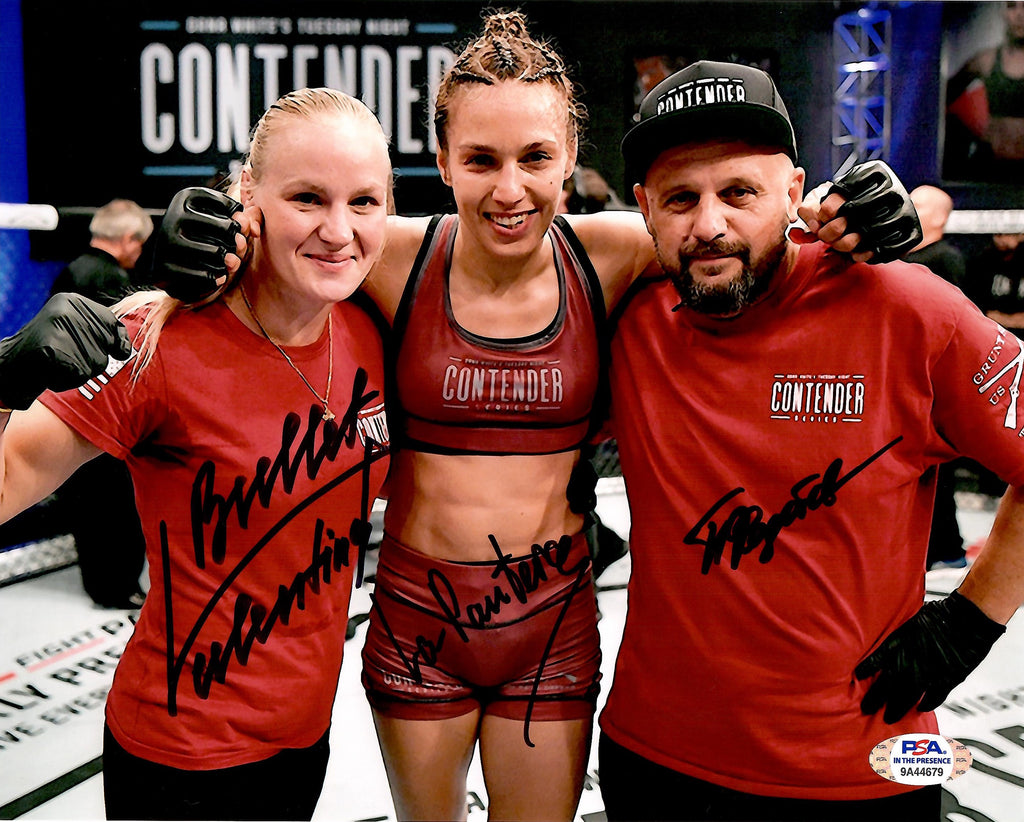 Antonina/Valentina Shevchenko Pavel Fedotov autograph signed 8x10 photo UFC PSA - JAG Sports Marketing