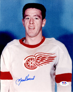Marcel Pronovost autographed signed 8x10 photo NHL Detroit Red Wings PSA COA - JAG Sports Marketing