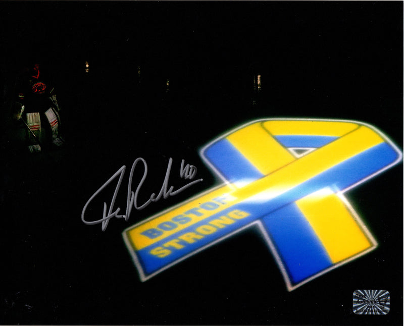 Tuukka Rask signed 8x10 photo NHL Boston Bruins Tuukka Rask Player Hologram - JAG Sports Marketing