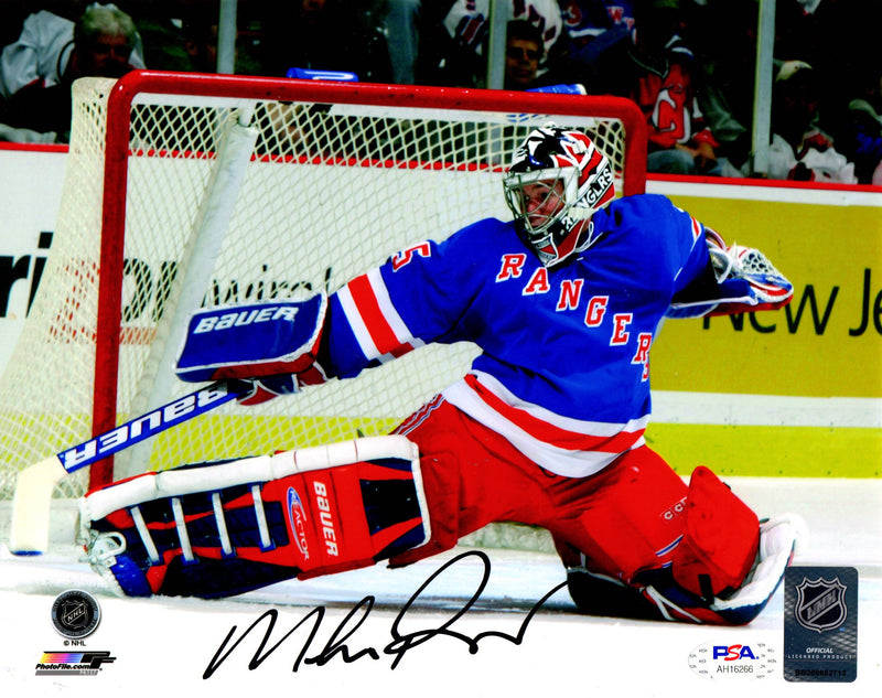 Mike Richter autographed signed 8x10 photo NHL New York Rangers PSA COA - JAG Sports Marketing