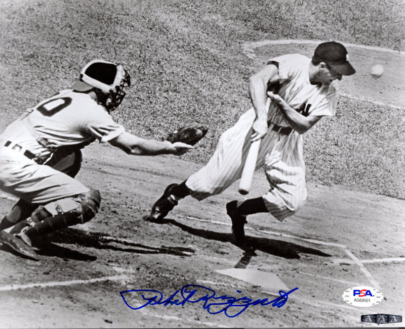 Phil Rizzuto autographed signed 8x10 photo MLB New York Yankees PSA COA Holy Cow - JAG Sports Marketing
