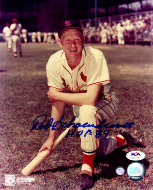 Red Schoendienst autographed signed inscribed 8x10 photo St. Louis Cardinals PSA - JAG Sports Marketing