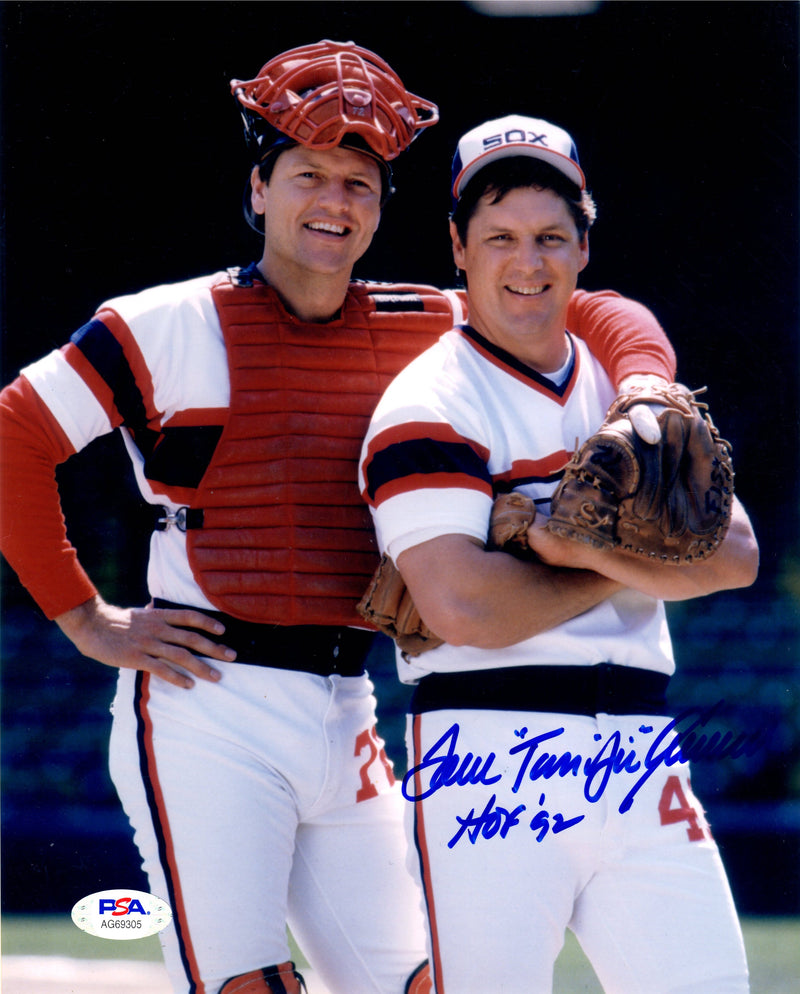 Tom Seaver autographed signed inscribed 8x10 photo MLB Chicago White Sox PSA - JAG Sports Marketing