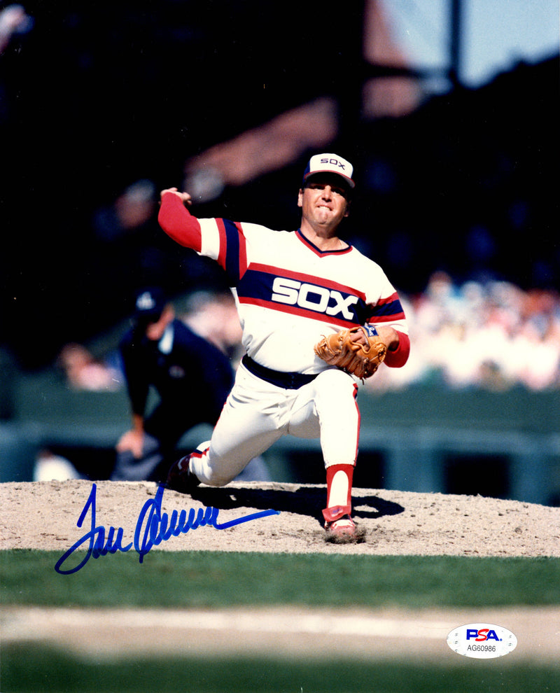 Tom Seaver autographed signed 8x10 photo MLB Chicago White Sox PSA Mets Reds - JAG Sports Marketing