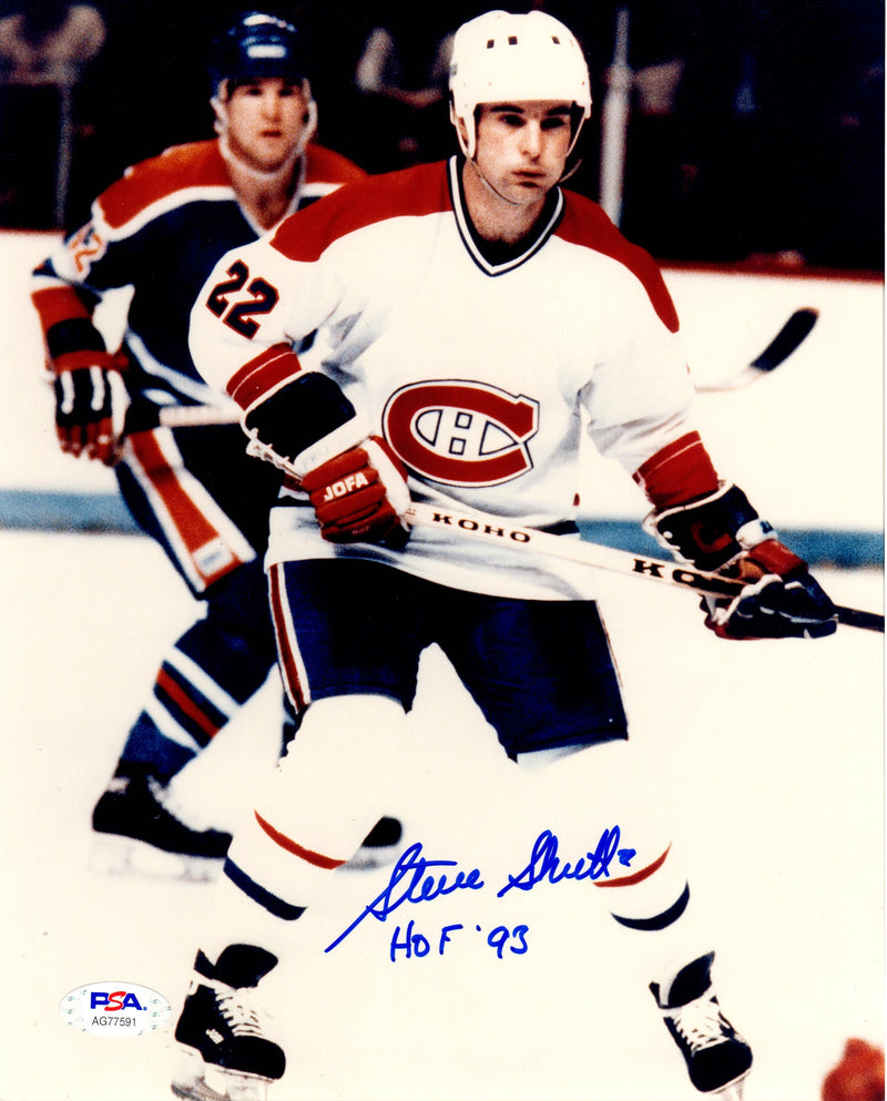 Steve Shutt autographed signed inscribed 8x10 photo NHL Montreal Canadians PSA - JAG Sports Marketing