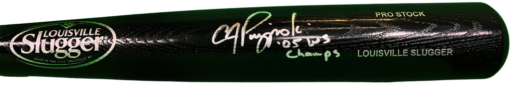 AJ Pierzynski autographed signed inscribed bat MLB Chicago White Sox PSA COA - JAG Sports Marketing