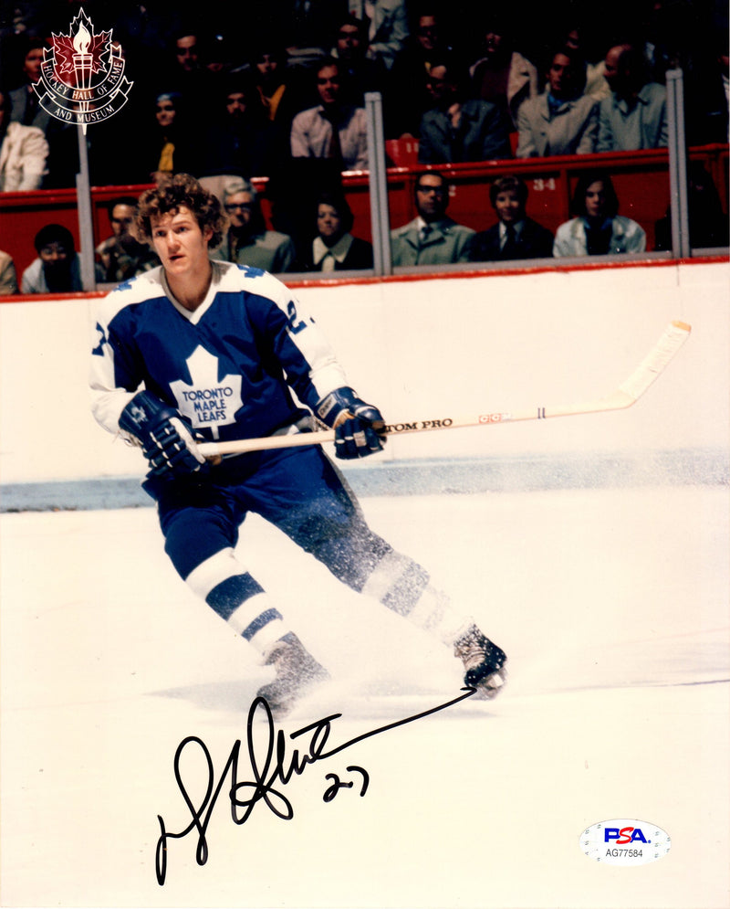 Darryl Sittler autographed signed 8x10 photo NHL Toronto Maple Leafs PSA COA - JAG Sports Marketing
