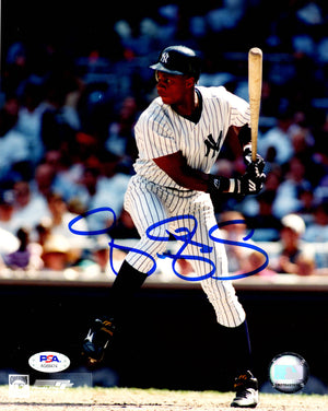 Darryl Strawberry autographed signed 8x10 photo MLB New York Yankees PSA COA - JAG Sports Marketing