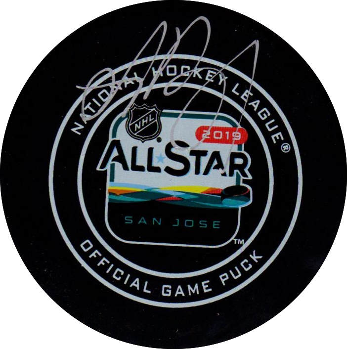 Andrei Vasilevskiy autographed signed All Star puck NHL Tampa Bay Lightning PSA