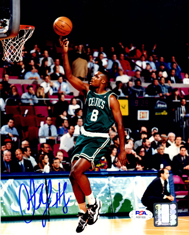 Antoine Walker autographed signed 8x10 NBA photo Boston Celtics PSA COA - JAG Sports Marketing