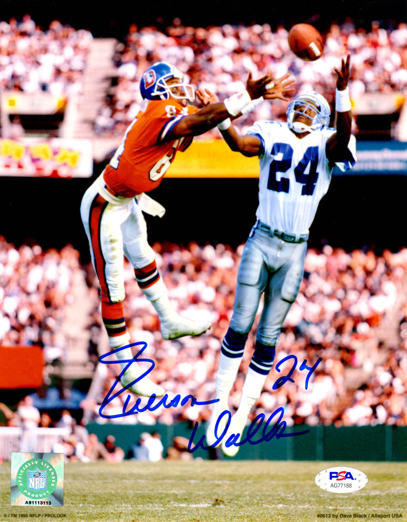 Everson Walls autographed signed 8x10 photo NFL Dallas Cowboys PSA COA Giants - JAG Sports Marketing