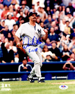 David Wells autographed signed inscribed 8x10 photo MLB New York Yankees PSA COA - JAG Sports Marketing