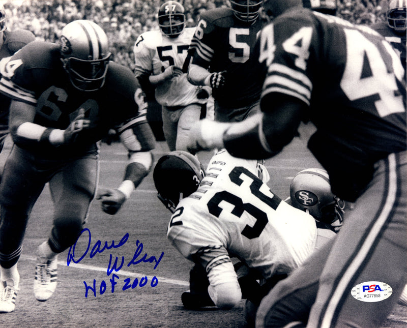 Dave Wilcox autographed signed inscribed 8x10 photo San Francisco 49ers PSA COA - JAG Sports Marketing