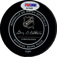 Mattias Ekholm autographed signed puck NHL Nashville Predators PSA COA Witness - JAG Sports Marketing