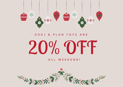 Save 20% on toys
