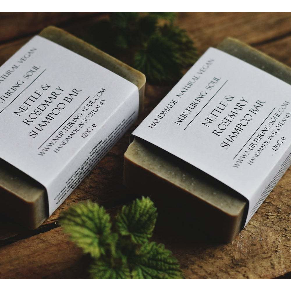 NETTLE AND ROSEMARY SHAMPOO & BODY BAR