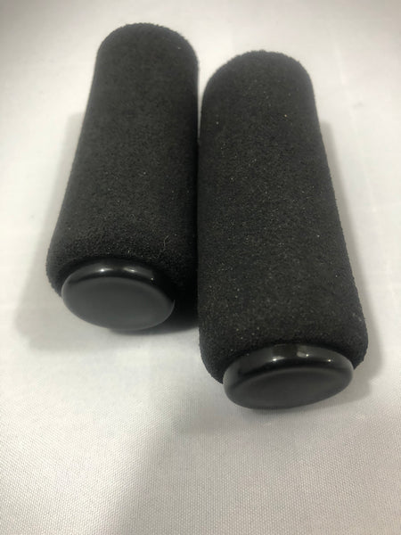 NEW NordicTrack Skier/  Ski Machines BACK WHEEL FRAME REPLACEMENT FOAM TUBE STOP / END RAIL PADS & CAPS;  Pro - Elite - 900-T Skiers