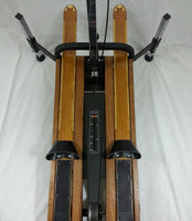 RARE NordicTrack USA Built ACHIEVER LEGACY Skier / Ski Machine with CUSTOM MEDALIST Skis