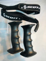 NordicTrack Ski Machines Custom Fitness Ski Grips BLACK. Medium.   Fitness Style Grip with Wrist Straps