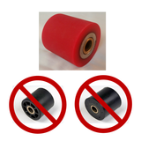 nordicfitnessskimachines - NordicTrack CENTER RUBBER ROLLERS Drive - Catch - Grip - Grab